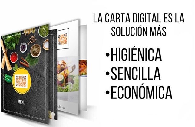 Carta digital restaurantes y bares